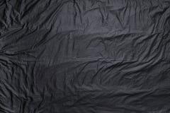 黑色丝绸 免版税库存图片