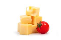 黄色乳酪 库存图片