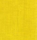 黄色亚麻布 免版税库存图片