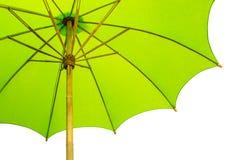 绿色伞 向量例证