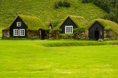 绿色住房 库存照片