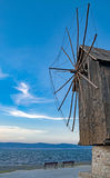 黑色保加利亚覆盖空白海运的通知 免版税库存照片
