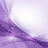 紫色假日背景 免版税库存图片