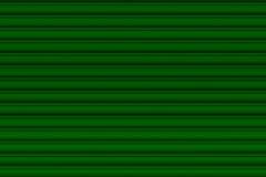 绿色停车库门 免版税库存图片