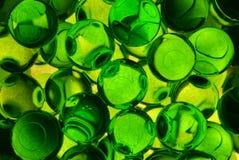 绿色充满香气的胶凝体球 库存图片