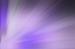 紫色光芒背景 库存图片