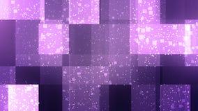 紫色公司箱子 库存图片