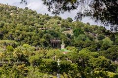 绿色公园GÃ ¼侧房 库存照片