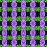 紫色兰花花在无缝的盛开 向量例证
