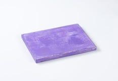 紫色切板 库存照片