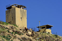 以色列人约旦边界 库存图片
