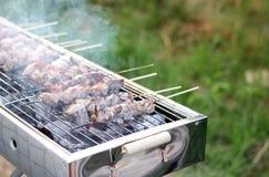 以色列传统假日烤肉 库存图片