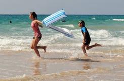 以色列地中海海岸线 库存图片