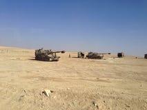 以色列坦克 免版税库存照片