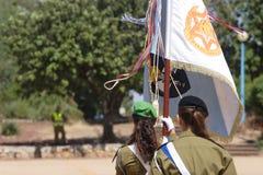 以色列的防御军队  库存图片