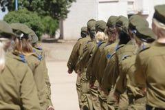 以色列的防御军队  免版税库存图片