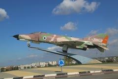 以色列空军队麦克当诺道格拉斯公司F-4E幽灵II喷气式歼击机 库存照片