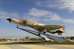 以色列空军队麦克当诺道格拉斯公司F-4E幽灵II喷气式歼击机 图库摄影