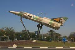 以色列空军队Kfir C2喷气式歼击机 图库摄影