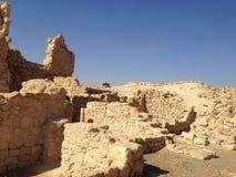 以色列考古学废墟 库存照片