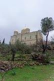 以色列耶路撒冷 - 2月14日 2017年 妇女的Gorna修道院 免版税库存图片