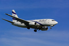 以色列航空公司以色列航空公司/波音737下个Gen/MSN 29961/4X-EKE 免版税库存图片
