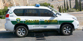 以色列警察 免版税库存图片
