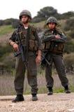 以色列边境警察 免版税库存照片