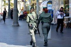 以色列边境警察 库存照片