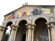 以色列,市耶路撒冷J的极度痛苦的大教堂 免版税库存照片