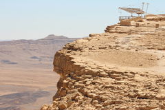 以色列- Makhtesh拉蒙 免版税库存照片