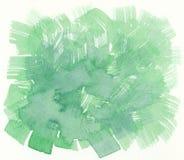 绿色刷子冲程构造背景 图库摄影