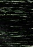 绿色刷子冲程纹理背景 免版税库存图片