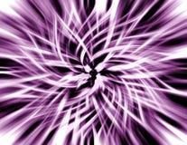 紫色发光的抽象漩涡背景 免版税图库摄影