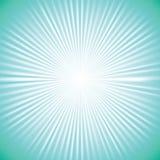绿色发出光线背景 向量例证