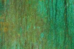 绿色古色金属纹理 库存图片