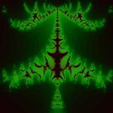 绿色叶子类型印刷品设计颜色背景 图库摄影
