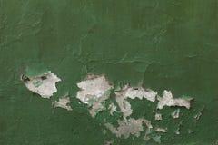 绿色和剥落 库存照片