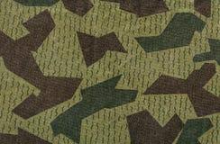 绿色和棕色伪装 图库摄影