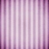 紫色和淡紫色Ikat条纹 免版税库存图片