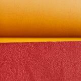 黄色和红色墙壁 免版税图库摄影
