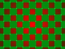 绿色和红色抽象背景,正方形 免版税库存照片