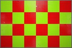 绿色和红色 免版税库存照片