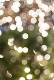 绿色和轻的Bokea 库存图片