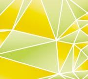 抽象春天多角形背景 库存照片
