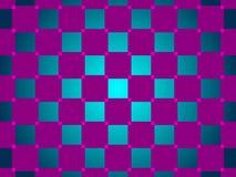 绿色和紫色抽象背景,正方形 免版税库存图片
