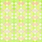 绿色和黄色无缝的样式 免版税库存照片