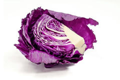 紫色圆白菜 图库摄影