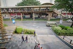 绿色地带,马卡蒂市 免版税库存图片