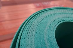 绿色地板海绵 免版税库存图片